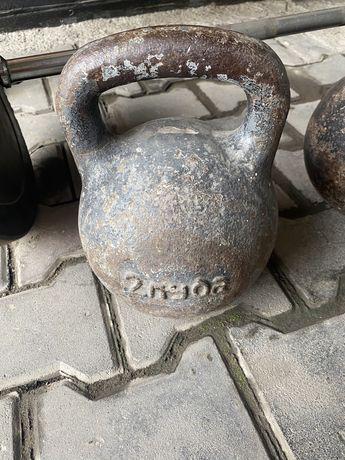 Гиря 32кг качественная, советская