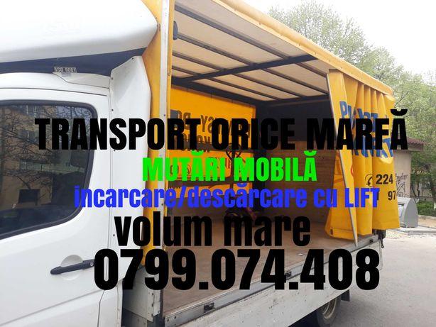 Transport Marfă! LIFT!! LIFT!! Mutări mobilă!
