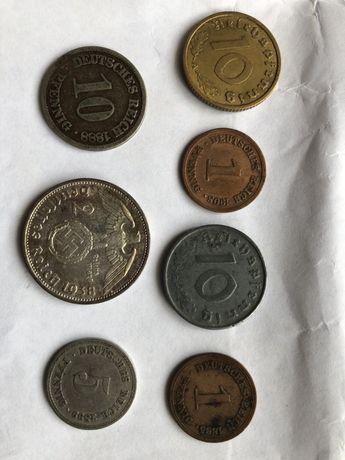 Монеты. Германия, Пфеннинги.