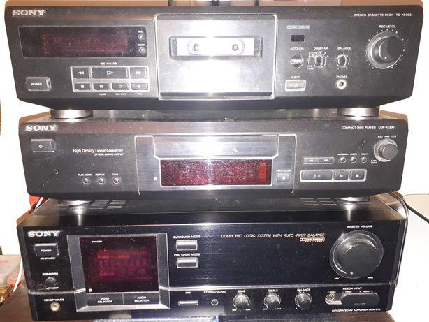 Sony - Amplificator TA-AV570 / CD player CDP-XE330 / Deck TC-KE300
