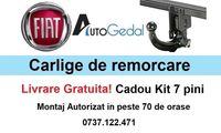 Carlig Remorcare Fiat Doblo PickUp 2009-2021 Livrare Gratuita Omologat