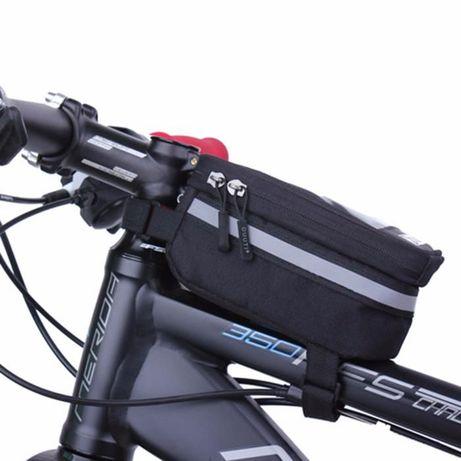 """Чанта за велосипед непромокаема с място за телефон 5,5"""""""