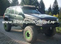 Overfendere Jeep GRAND Cherokee ZJ, 1993-1998 - Material ABS - 12 cm