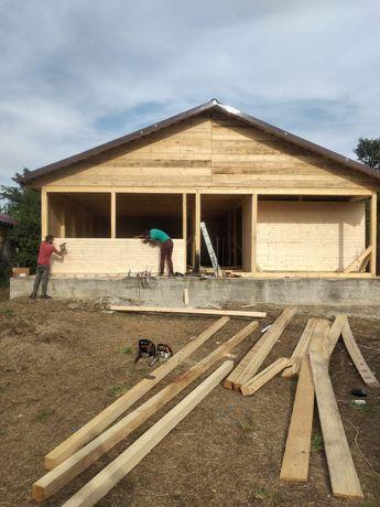 Vând case din lemn 10 x 10 preț de la 8500 de euro
