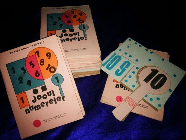 Jocul Numerelor. Joc romanesc vechi didactic, educativ. De colectie!
