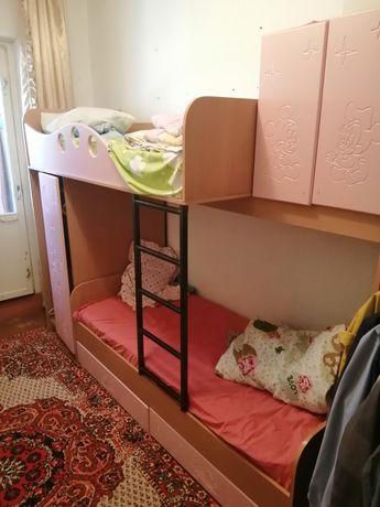 Детский двухяросный кровать