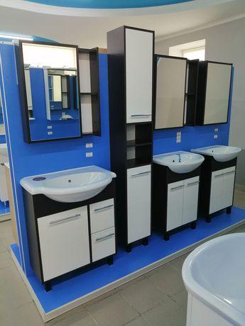 Мебель для ванной комнаты тумбы под умывальник, зеркала, тумбы, шкафы