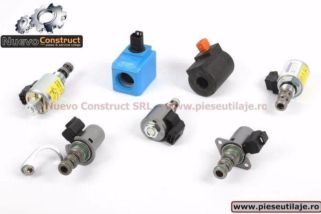 Set bobine si electroventile pentru utilajele marca JCB