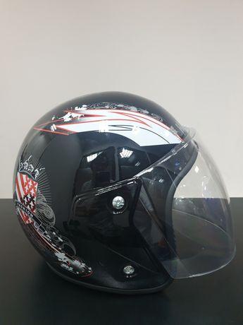 Мотошлем каска новая для мопед скутер шлем