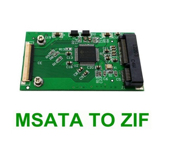 Adaptor convertor SSD mSATA la interfata ZIF 40pin pt laptop iPod iPad Bucuresti - imagine 1
