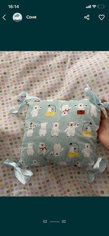 бортики подушки для кроватки