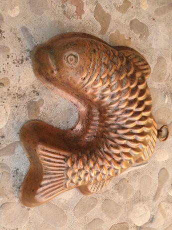 Медни съдове - риба