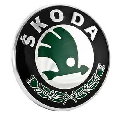 емблема преден заден капак капачки джанти Шкода Октавия Skoda Octavia