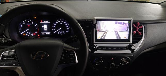 Камера заднего вида для Hyundai Accent (Solaris) Хюндай Акцент