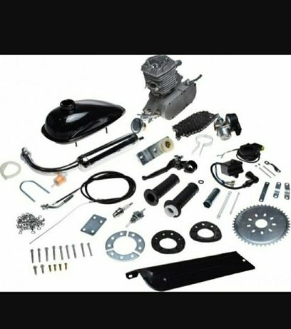 Kit Motor Bicicleta 80cc 3,5 cp ,complet