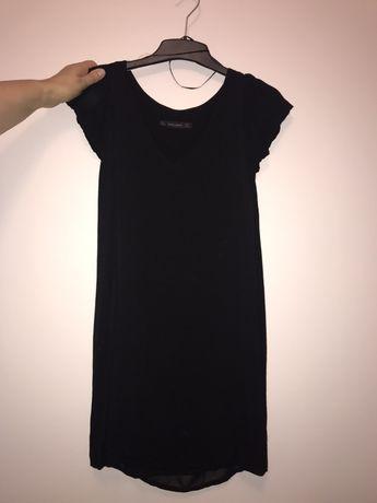 Rochie neagra Mini Zara cu volane S