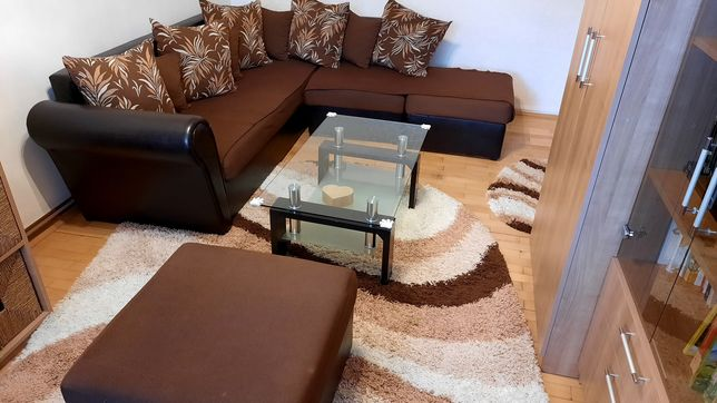 Colțar sufragerie maro