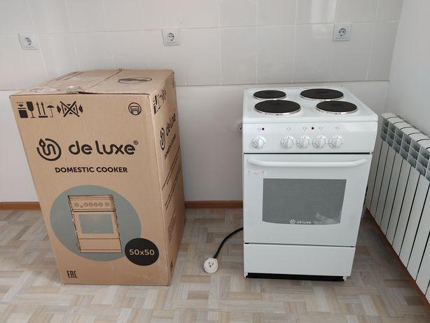 Электрическая плита Deluxe 5004.11э