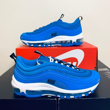 """Adidasi Nike Air Max 97 Se GS """"Blue Hero"""" 100% originali 38"""