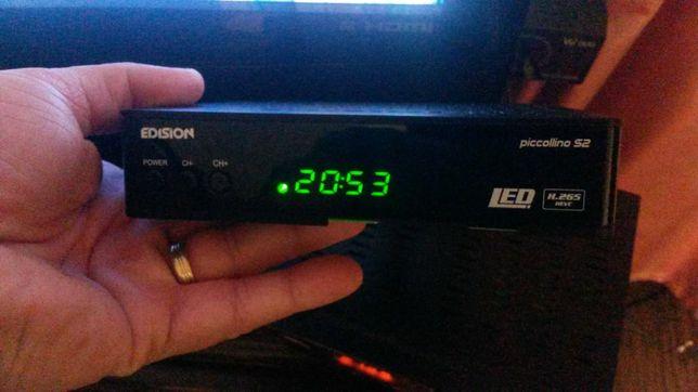 Vând decodor /receiver /receptor satelit Edision Picolino Full Hd