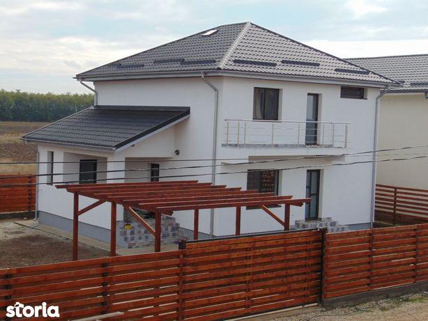 FARA COMISIOANE casa Mediteraniana cu 4 camere P+1+pod terasa pergola