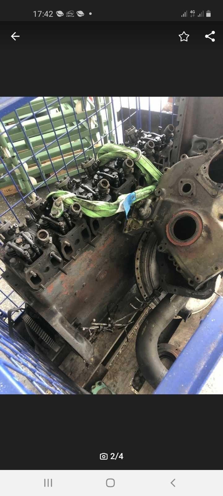 Dezmembrez motor Fendt, Renault Mwm D226.6