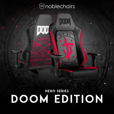 Noblechairs HERO Gaming Chair -DOOM® Edition