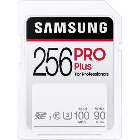 Карта памяти Samsung 256GB PRO Plus UHS-I SDXC