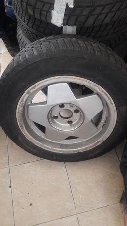 185/65/15 алуминиеви с гуми-4 бр, 195/65/14 метална с гума 1 бр.