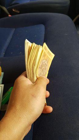 Стари банкноти петдесет 50 , сто 100 и петстотин 500 лева