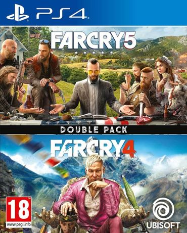 Far Cry 5 + Far Cry 4 (2 в 1) для PlayStation 4 (PS4) лицензия/русский