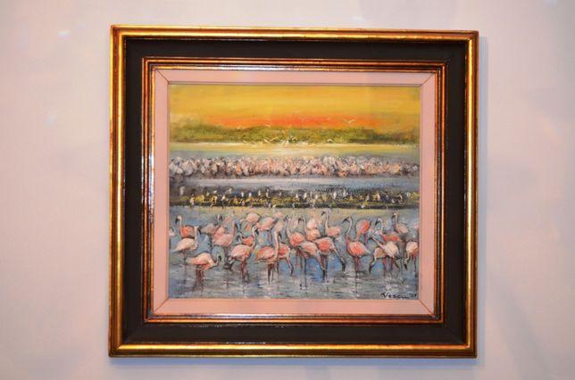 Tablou de colectie Flamingo - Teodor Vescu