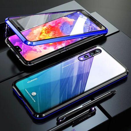 Магнитен Кейс 360° градуса за Huawei P20 Lite P30 Pro Mate Y6 Y7 2019