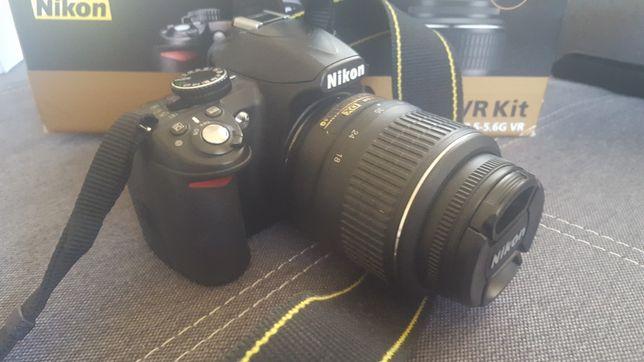 Aparat DSLR Nikon D3100
