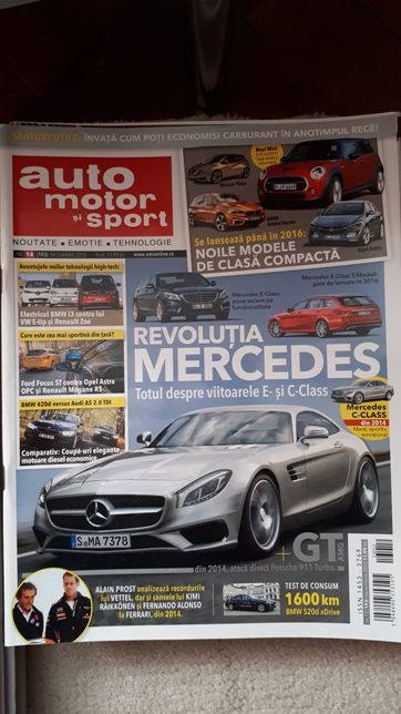 Revista auto motor și sport