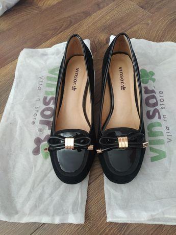 Туфли кожаные 24см, Турция