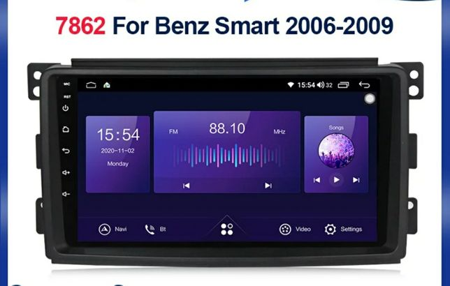 Navigatie Smart Forfour/Fortwo 2006-2010