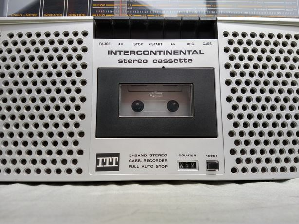 Radio Casetofon Intercontinental ITT