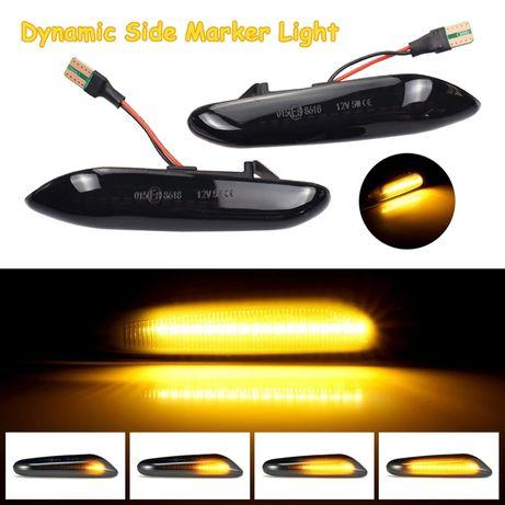 Semnalizari Dinamice LED BMW E46 E60 E81 E82 E87 E90 X1 X3