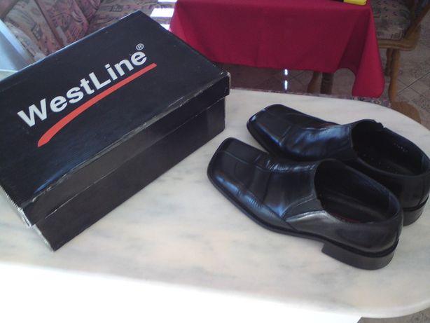 Pantofi piele barabati ,marime 43 ( Westline ) Made in Germany