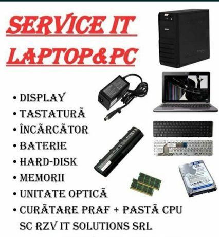 Reparații Laptop, calculatoare, imprimante