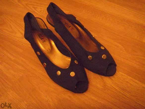 дамски сандали и подарък летни чехли