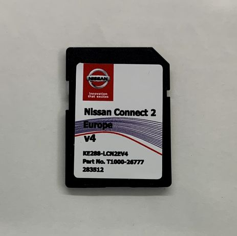 NISSAN Connect LCN2 Navi SD Card Europa 2019-2020 V4