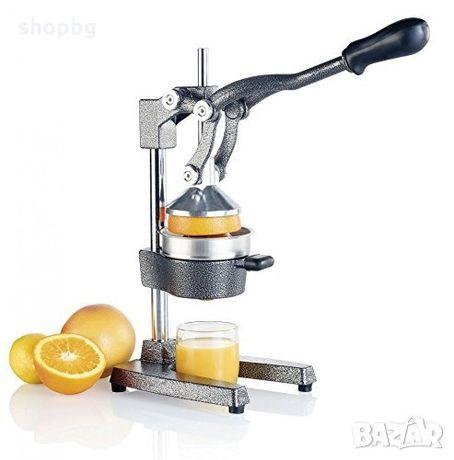 Професионална ръчна цитрус преса, машина за фреш от нар, портокал