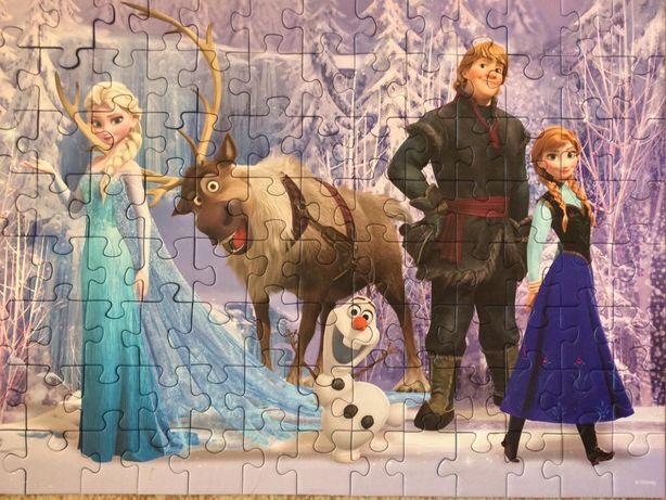 Puzzle Frozen REDUS Minecraft