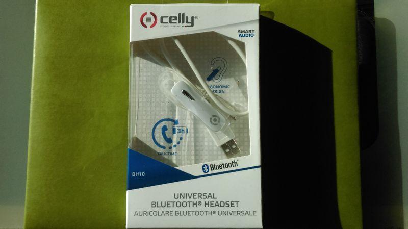 Безжични Bluetooth слушалки ''BH10 Celly'' гр. София - image 1
