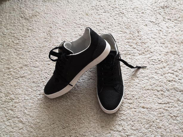 Sneakers Geox Respira D Blomiee A negri marimea 37