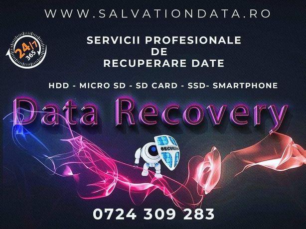 Recuperare date hard disk , memory card