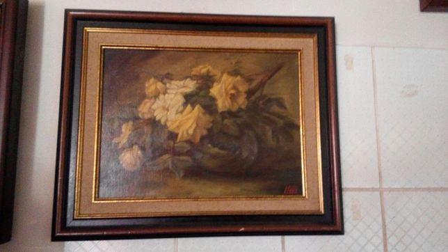 Pictura -Tradafiri galbeni