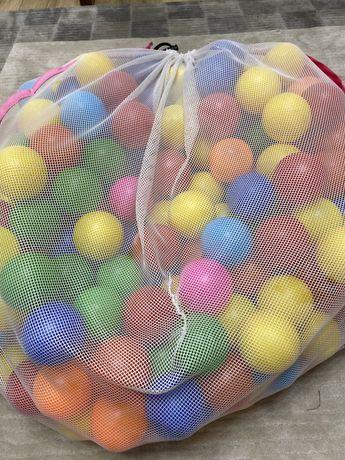Набор поастиковых шариков для сухого бассейна